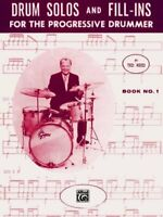 Drum Solos and Fill-ins for the Progressive Drummer, Book 1, Paperback by Ree...