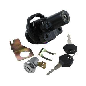 Ignition Switch Lock Key Kit Fit Yamaha YZFR1 02-03 YZFR6 06-11 07 FZ6 FZ6S FZ6N