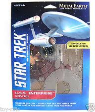 METAL Earth Star Trek l'originale prima USS Enterprise NCC-1701 - NUOVISSIMO
