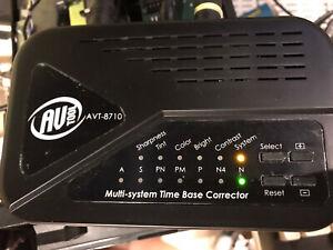AV TOOLBOX AVT-8710 TIME BASE CORRECTOR TBC KIT IN BOX NOT 1000
