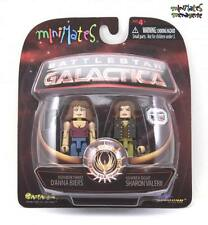 Battlestar Galactica Minimates Series 3 Three D'Anna Biers & Eight Sharon Valeri
