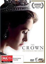 THE CROWN (COMPLETE SEASON 1 - DVD SET SEALED + FREE POST)