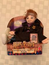 NEW Harry Potter Gryffindor Friends RON 88658 Plush Doll & Charm