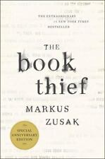 The Book Thief (Anniversary Edition) by Markus Zusak Hardcover Book (English)