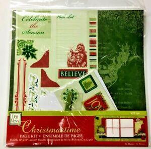 Christmas Scrapbook Pages Kit 34 Piece  Deja Views