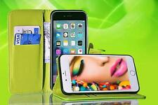 Flip Wallet PU Leather GEL Case Cover Stand For iPhone X SE 5c 5S 6 6S 7 8 Plus