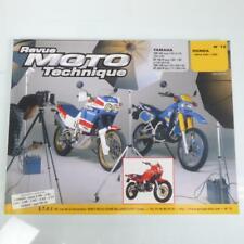 Revue technique atelier E.T.A.I moto Honda 650 XRV Africa twin 1988 N°72 Neuf