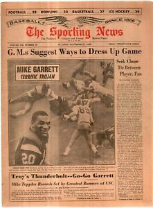 The Sporting News Newspaper Nov 27, 1965 G.M.s Suggest Ways To Dress Up Game G