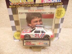 1991 Racing Champions 1:64 NASCAR Dale Jarrett Citgo Ford Thunderbird #21 b
