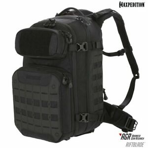 Maxpedition RBDBLK RIFTBLADE CCW-Enabled Backpack Black