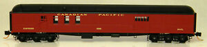 NEW N MTL #14800080 70' Heavyweight Mail Baggage Car Canadian Pacific #3552