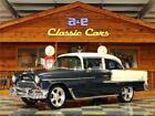 1955 Chevrolet Bel Air/150/210  1955 Chevrolet 210 – Blue Metallic / White