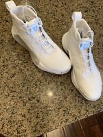 Adidas Mens White Basketball Shoes Size 10.5. Lightly Worn