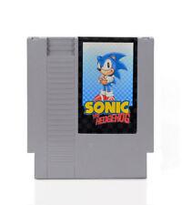 Sonic the Hedgehog  - Nintendo NES Game English