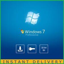 Windows 7 Professional 32 64bit Sp1 Full LIFETIME key - Instant Message Delivery