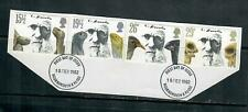 1982 COMMEMORATIVES SET  DARWIN, USED CUT FROM FDC
