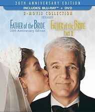 FATHER OF THE BRIDE (20th anniv) / FATHER OF 2  -  Blu Ray - Sealed Region free
