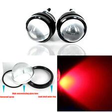 2pcs Red 5W Shining Blue Eagle Eye DRL LED Fog/Signal Daytime Running Light Bulb