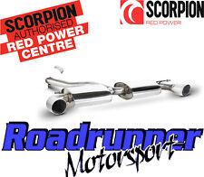 "Scorpion Golf Gti Mk6 sistema de escape de 3 ""de Cat posterior non resonó fuerte svws036"