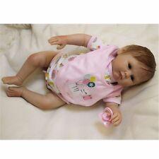 20'' Silicone bebe Reborn baby Dolls Lifelike Baby Newborn Doll Handmade Girl 27