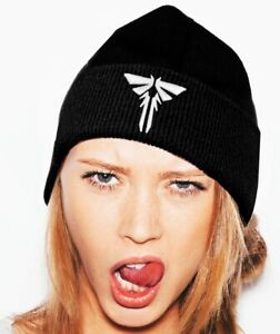 """THE LAST OF US  """"FIREFLY"""" BEANIE CAP 3D STITCHING STICH FOR MEN AND WOMEN"""