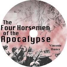 The Four Horsemen of the Apocalypse, Vincent Blasco Ibanez Audiobook on 1 MP3 CD
