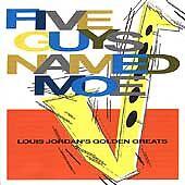 Five Guys Named Moe, Louis Jordan, Audio CD, Good, FREE & FAST Delivery