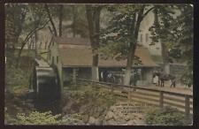 Postcard New London CT Old Town Mill view 1907?