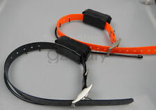 2*GARMIN DC40 GPS dog collar for ASTRO220/320 USA Version (Black & Orange strap)