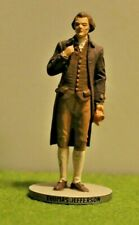 Danbury Mint Pewter By D. LaRocca Hand Painted President to scale Thomas Jeffers