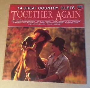 Together Again - 14 Great Country Duets - 1987 - LP Album Record