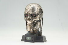 TERMINATOR END SKELETON HEAD CLOCK Free Shipping 674r16