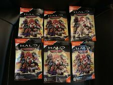 Lot of 6 Mega Construx Halo Warrior Series Blind Bags