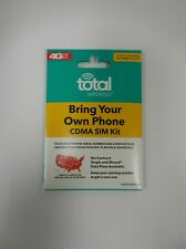 Total Wireless Bring Your Own Phone CDMA SIM Kit- Fits Verizon phones