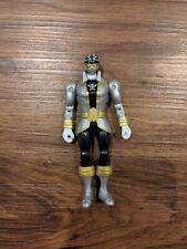 BAN DAI Saban's Power Rangers Silver Ranger Figure Toy Super Megaforce MMPR