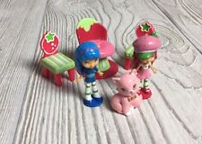 Strawberry Shortcake Figure Toy Lot Figures