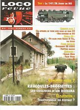 LOCO REVUE N°647 141.TA JOUEF HO / ROTONDE HO / RAUCOULES-BROSSETTES : DIORAMA