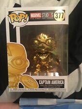 Funko Pop! Vinyl Figure - Marvel #377 - Captain America [Gold]