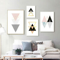 Nordic Abstract Geometric Canvas Poster Wall Art Print Painting Home Decoration