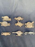 Antique EASTLAKE SASH LOCKS & Window Hardware