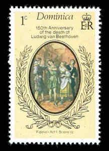 Scott # 528 - 1977 - ' Ludwig Van Beethoven, Composer ', Fidelio, Act I, Scene I
