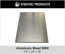 125 18 Aluminum Sheet Plate 24 X 36 5052