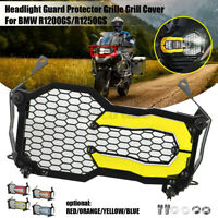 Headlight Guard Grille Grill Cover Trim Yellow For BMW R1200GS/R1250GS/Adventure