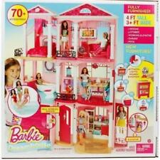 Barbie Dreamhouse Playset 3 Story House 70+ Accessory Pieces Doll House