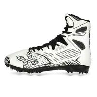 New HK Army Diggerz X1 High Top Paintball Cleat Cleats - White / Black - Mens 11