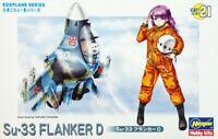 Hasegawa TH21 Su-33 Flanker D Eggplane (Egg Plane) Series