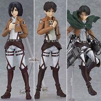 Anime Attack on Titan Action Figure Shingeki No Kyojin Mikasa Ackerman Figurine