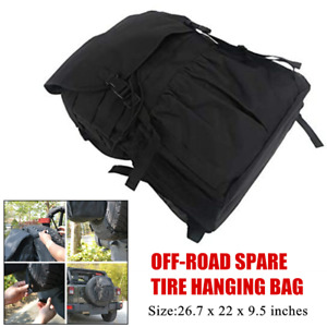 1×Off-road Car SUV Spare Tyre Hanging Bags Protector Tire Storage Carry  Package