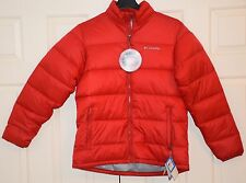 Columbia Men's Rapid-Excursion-Thermal-Coil-Puffer-Jacket-Dark RED Sz:M