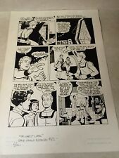 SPACE FAMILY ROBINSON #62 original art LOST IN SPACE, GHOST, SCI FI, GOLD KEY!!!
